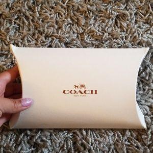 Coach Bags - Coach medium blue wrislet